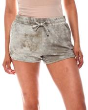 Fashion Lab - Knit Tie Dye Jogger Shorts-2651390