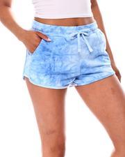 Fashion Lab - Knit Tie Dye Jogger Shorts-2651406