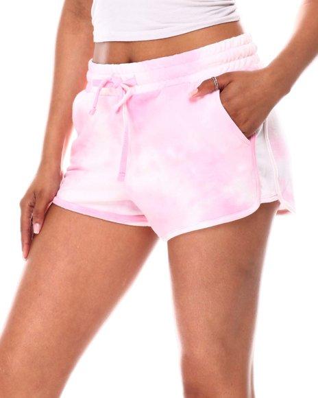 Fashion Lab - Knit Tie Dye Jogger Shorts