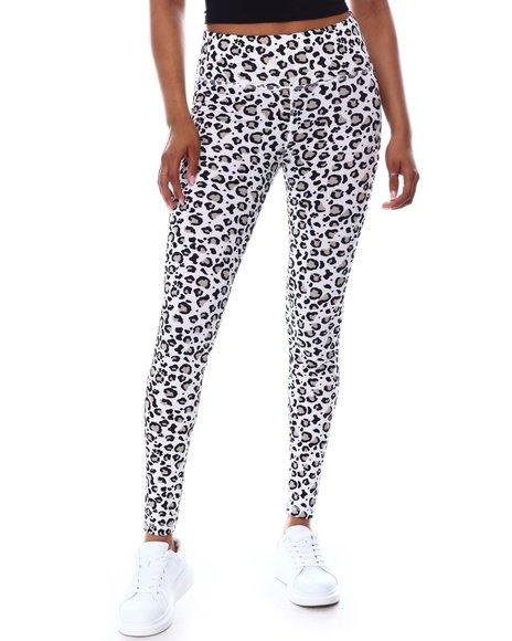 Fashion Lab - Active Leopard Print Leggings