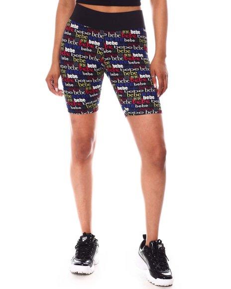 Bebe - Logo Biker Shorts