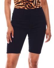 Fashion Lab - Denim Bermuda Shorts-2651328