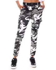 Fashion Lab - Belted Camo Jogger-2654304