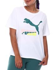 Puma - Classics Logo Tee (Plus)-2652427