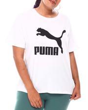 Puma - Classics Logo Tee(Plus)-2654416