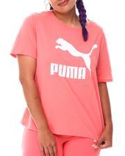 Puma - Classics Logo Tee (Plus)-2652400