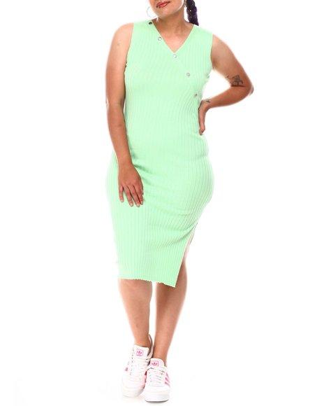 Fashion Lab - Midi Tank Dress (Plus)