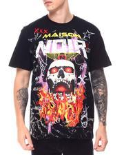 MAISON NOIR - Flaming Skull Tee-2652162
