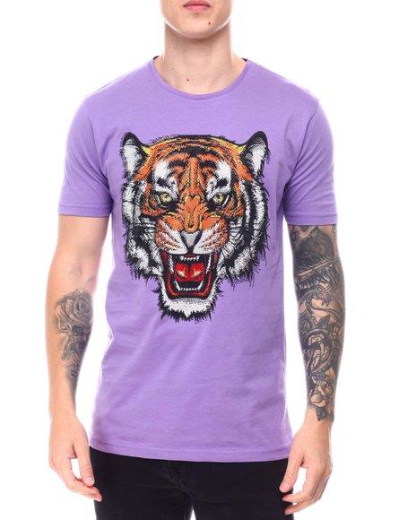 Buyers Picks - Tiger Face Rhinestone T-Shirt