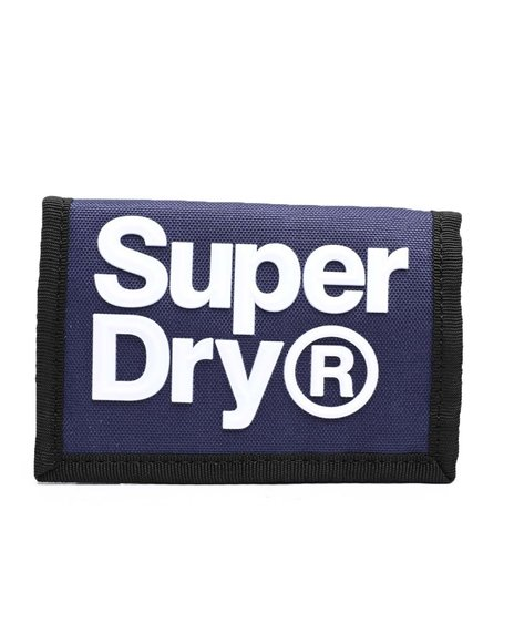 Superdry - Velcro Logo Wallet