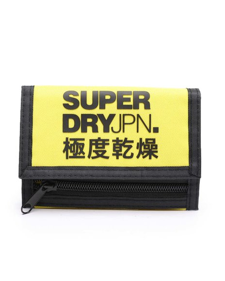 Superdry - Tri-Fold Polyester Wallet