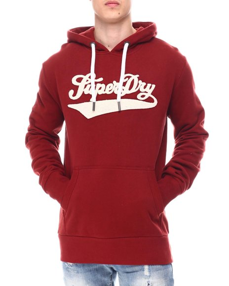 Superdry - COLLEGE CHENILLE HOOD