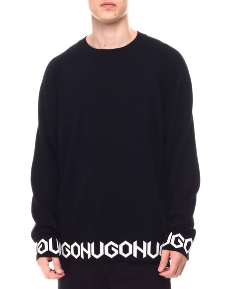 Hugo Boss - Shem Logo Tape Sweater