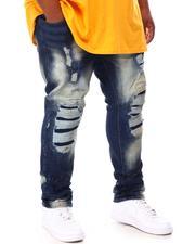 Makobi - Shredded Denim Jeans (B&T)-2655050