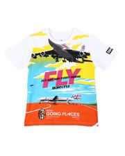 Born Fly - Fly Any & Every Where Graphic Tee (4-7)-2655342
