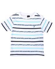 Nautica - Textured Stripe Tee (2T-4T)-2655380