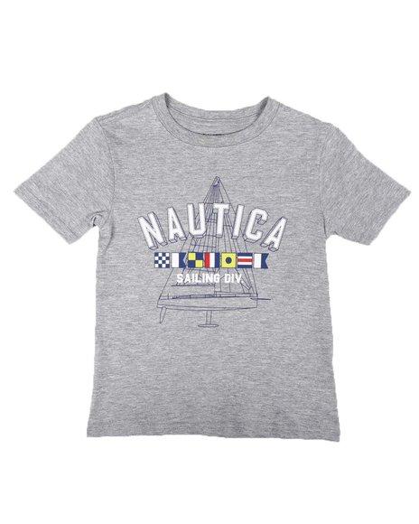 Nautica - Nautical Flags Tee (2T-4T)