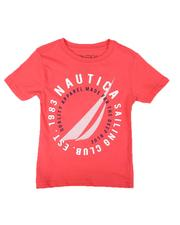 Nautica - Big Circle Logo T-Shirt (2T-4T)-2655403