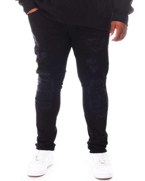 Makobi - Shredded Denim Jeans (B&T)
