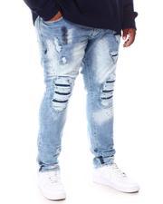 Makobi - Shredded Denim Jeans (B&T)-2655126