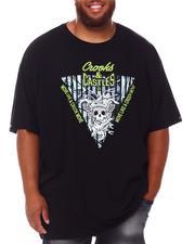 Big & Tall - Skull Reverse Core Logo T-Shirt (B&T)-2655656