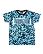 Arcade Styles - All Over Print Ringer Tee (2T-4T)-2655471