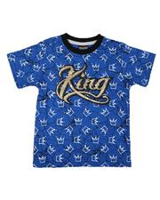 Arcade Styles - All Over Print Ringer Tee (8-18)-2655492