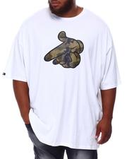 Crooks & Castles - Camo Hand T-Shirt (B&T)-2655643
