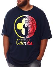 Crooks & Castles - Half Lux Rainbow T-Shirt (B&T)-2655653