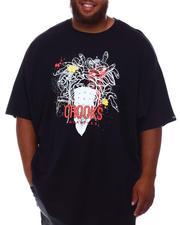 Crooks & Castles - Splatter Medusa T-Shirt (B&T)-2655696
