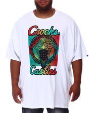 Crooks & Castles - Grecco Bandito Grid T-Shirt (B&T)-2655720