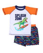 Swimwear - Rash Guard & Swim Trunks Set (4-7)-2654188