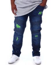 Big & Tall - Denim Moto Jeans (B&T)-2655152