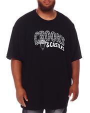 Crooks & Castles - Lux Medusa T-Shirt (B&T)-2655210