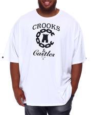 Crooks & Castles - Core Mix Chain T-Shirt (B&T)-2655613
