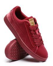Puma - Basket Classic Velour Jr. Sneakers (4-7)-2655929
