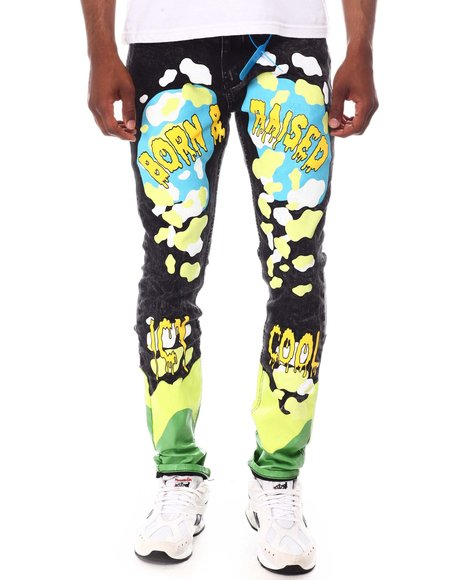 Cooper 9 - Icy Cool Graphic Jean