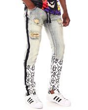 Cooper 9 - C9 Graffiti Stripe Jeans-2657930
