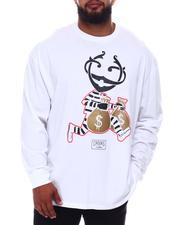 Crooks & Castles - Colored Monopoly Long Sleeve T-Shirt (B&T)-2656270