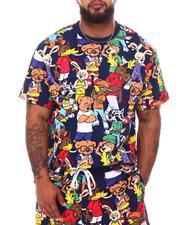 Big & Tall - Clan Bear Knit T-Shirt (B&T)-2658596