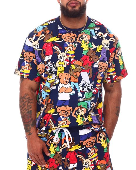 Hustle Gang - Clan Bear Knit T-Shirt (B&T)
