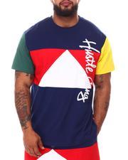 Big & Tall - Bright Colorblock Knit T-Shirt (B&T)-2658635