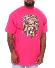 Big & Tall - Rainbow Rasta King Tee (B&T)-2659086