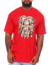 Big & Tall - Rainbow Rasta King Tee (B&T)-2659089