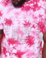 Hustle Gang - Sunset Tie Dye Knit T-Shirt (B&T)-2659121