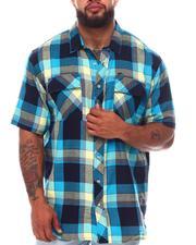 A Tiziano - Clyde Plaid Woven Shirt (B&T)-2659069
