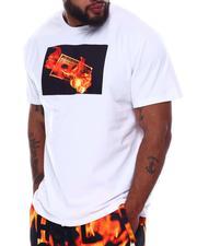 Hustle Gang - Tinder Flames Knit T-Shirt (B&T)-2659135