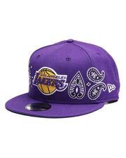 New Era - 9Fifty Los Angeles Lakers Snapback Hat-2656594