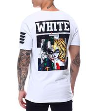 Shirts - White Comic Tee-2658156