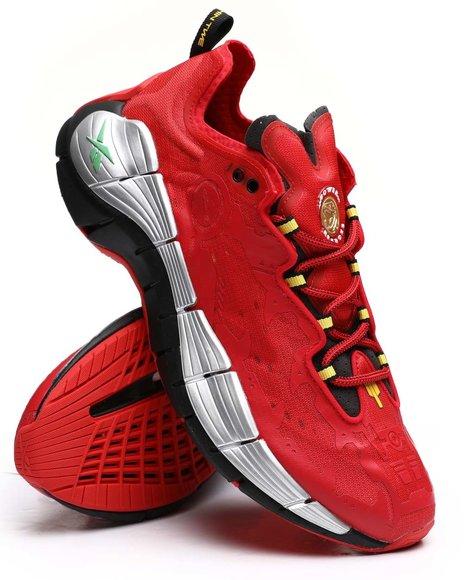 Reebok - Reebok x Power Rangers Zig Kinetica II Red Ranger Sneakers